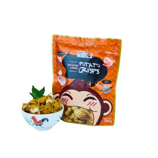 Singapore Laksa Potato Chips (Small) - 105g