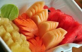 Sliced Cut Fruits