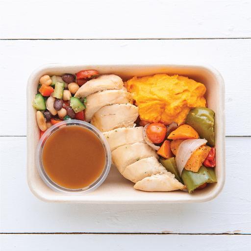 Slow Roasted Chicken & Gravy