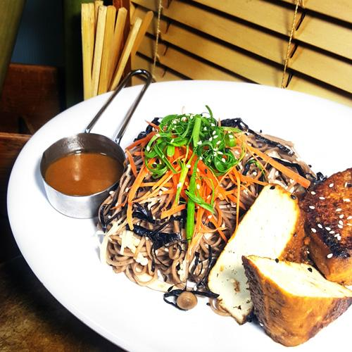 Grilled Miso Tofu with Buckwheat Soba & Soy Sesame Dressing (13-Dec)