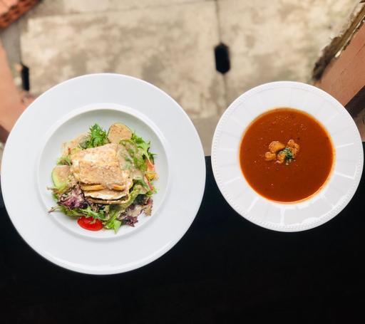 Soup and Salad Set