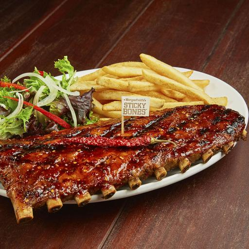 Spicy Asian BBQ Full Slab  – No Sides