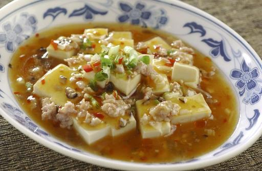 Spicy Beancurd with Minced Pork 麻婆豆腐