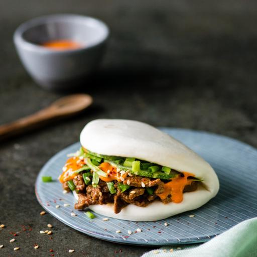 Spicy Beef Bao