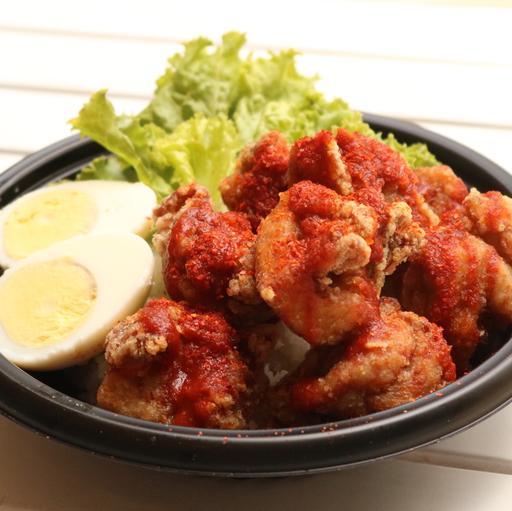 Spicy Chili Karaage Don