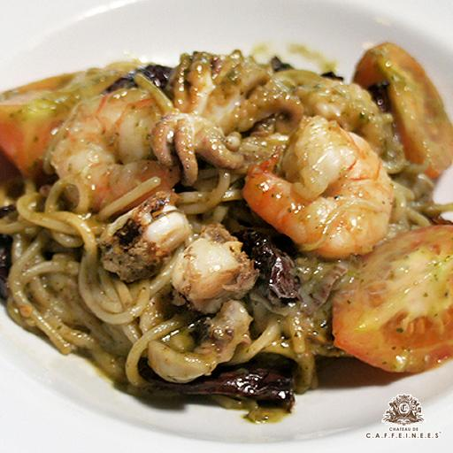 Spicy Seafood Olio