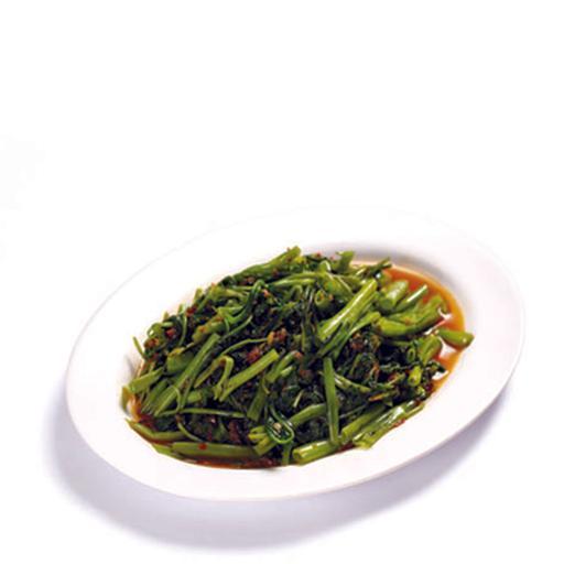 Stir Fried Kang Kong (Sambal / Garlic) 马来风光 (參巴醬 / 蒜茸)