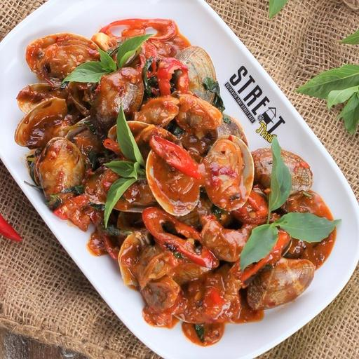 Stir Fried Lala with Chili Paste