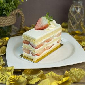 Strawberry Shortcake (Sliced)
