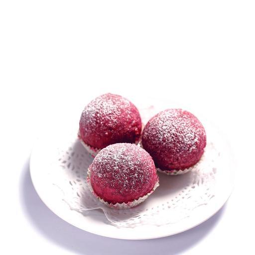 Sweet Potato Salted Egg Ball 紫蕃薯流沙球 (3pcs)