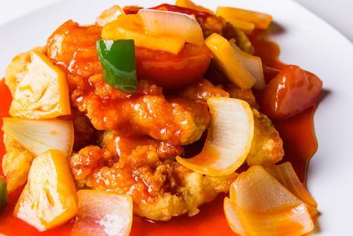 Sweet & Sour Chicken酸甜鸡丁