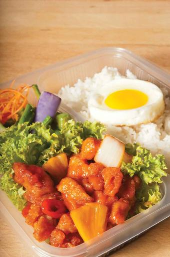 Sweet & Sour Chicken Bento