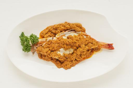 TAO Curry Jumbo Prawn 饕聚咖喱大虾