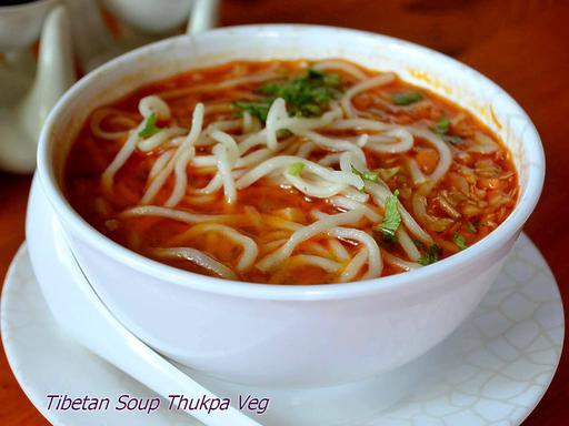Tibetan Thukpa Vegetable Soup