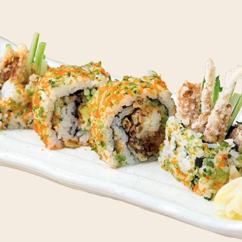 [TP] Spider Roll (Soft Shell Crab)