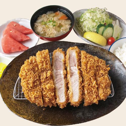 [TP] Top Grade Black Pig Tonkatsu Set