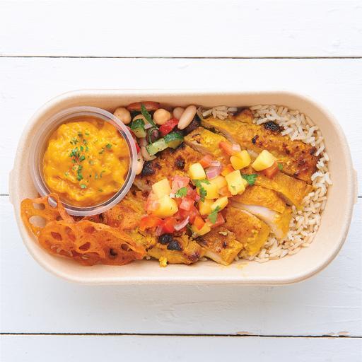 Tandoori Chicken w/ Mango Salsa