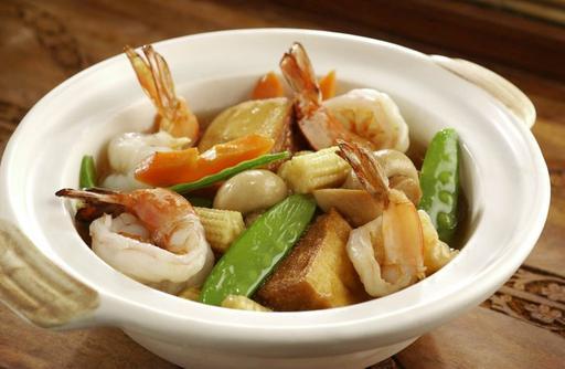 Tauhu Prawns 虾球豆腐