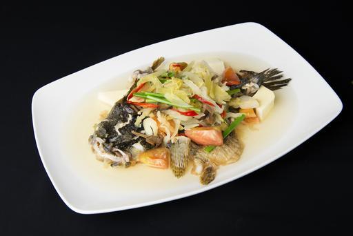 Teochew Style Steamed Fish 潮式蒸鱼
