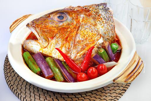 Thai Style Assam Fish Head 泰式亚参鱼头