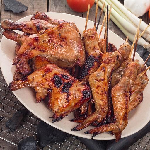 Thai Style BBQ Spring Chicken
