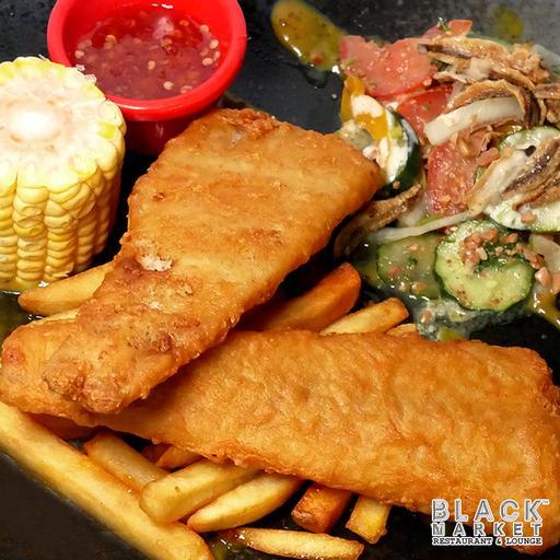 Thai Style Fish & Chip (Non Halal)