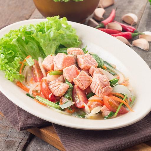 Thai Style Salmon Salad