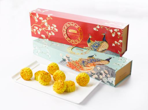 The Fullerton Golden Custard Mini Mooncakes 富丽敦奶黄金月
