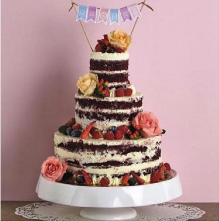"Classic 3-Tier Cake (4"" x 6"" x 10"")"