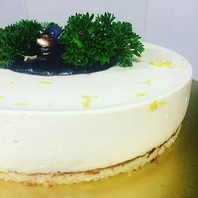 Tofu Lemon Cheesecake