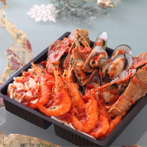 Tomato Seafood Stew (1 pot)