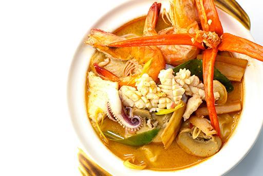 Tomyam Seafood Soup 冬炎海鲜汤