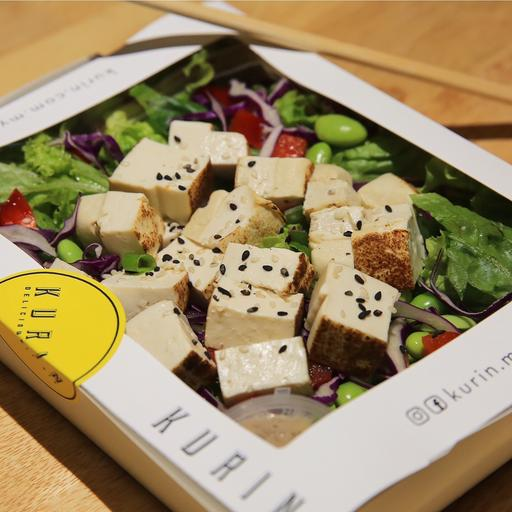Torched Tofu & Goma Salad