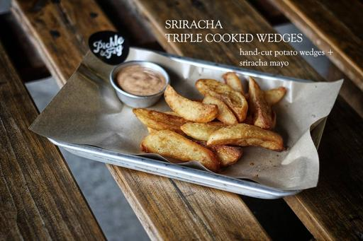 Triple Cooked Wedges