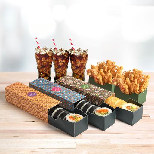 Triple Treats: D.I.Y Maki Meal
