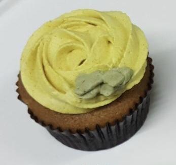 Tumeric Ginger Lime Cupcakes