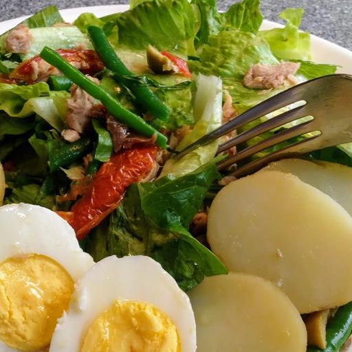 Wild Tuna Nicoise Salad