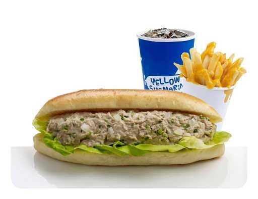 Tuna Submarine Meal