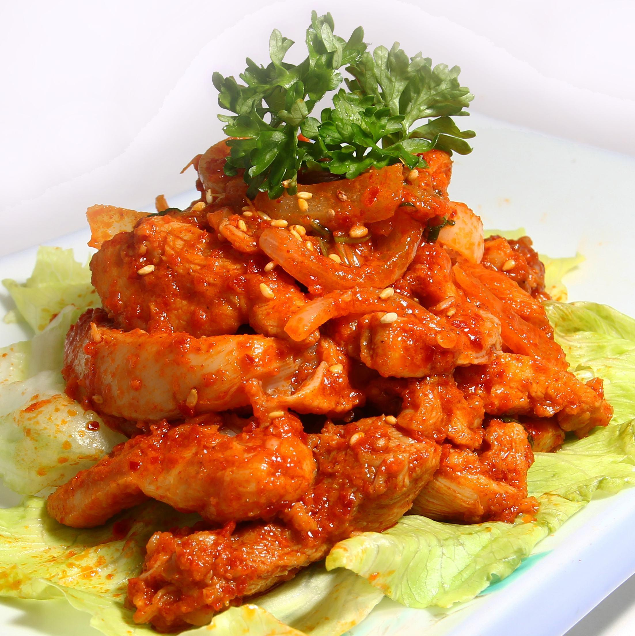 Chicken Bulgogi (韩式辣鸡肉)