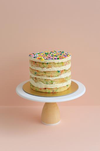 """6"""" Vanilla Confetti Layer Cake"""