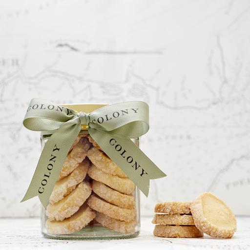 Vanilla Shortbread Cookies (Per Jar)