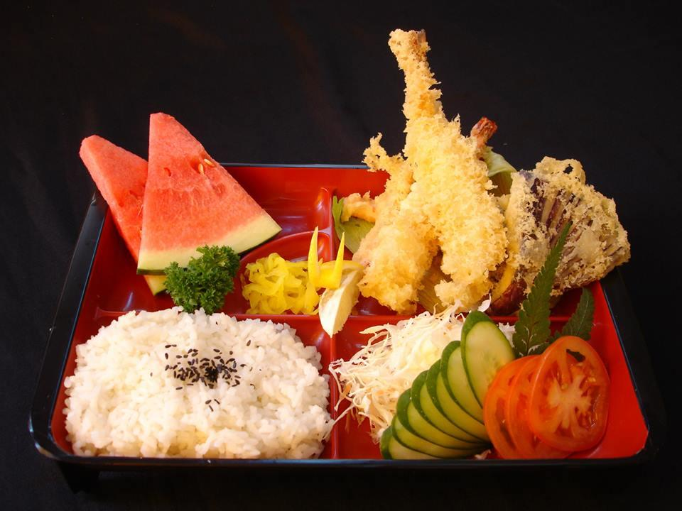 Vegetable Tempura Set (菜天妇罗饭盒)