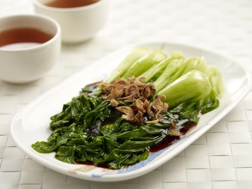 Vegetables With Oyster Sauce (油菜)