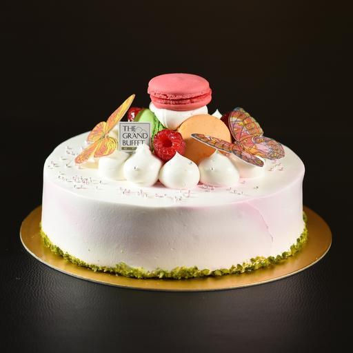 White Chocolate Cream Cake