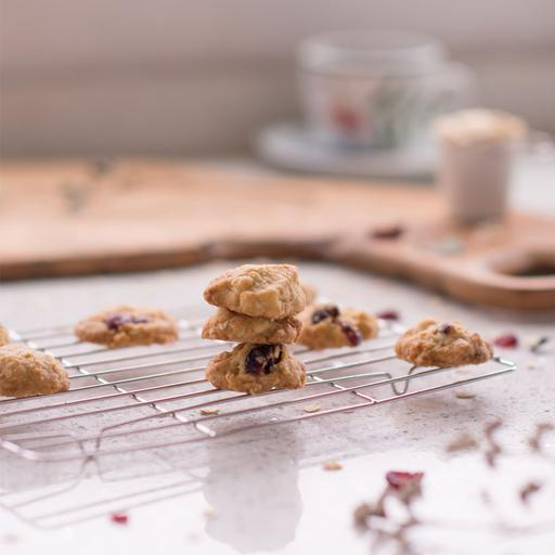 White Cranberry Cookies