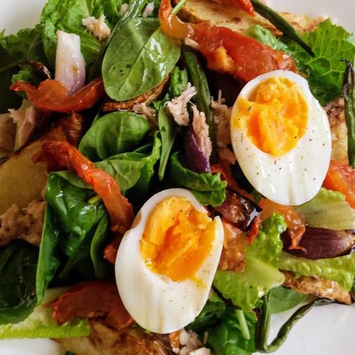Winter Wild Tuna Nicoise Salad