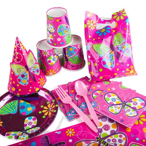 Fly Fly Butterfly Party Set (15 Pax)