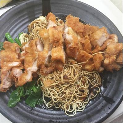 #06 XL Chicken Cutlet Noodles