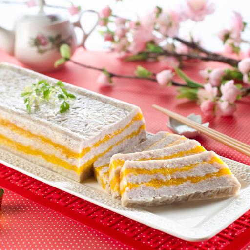 Xin's Yam and Pumpkin Cake