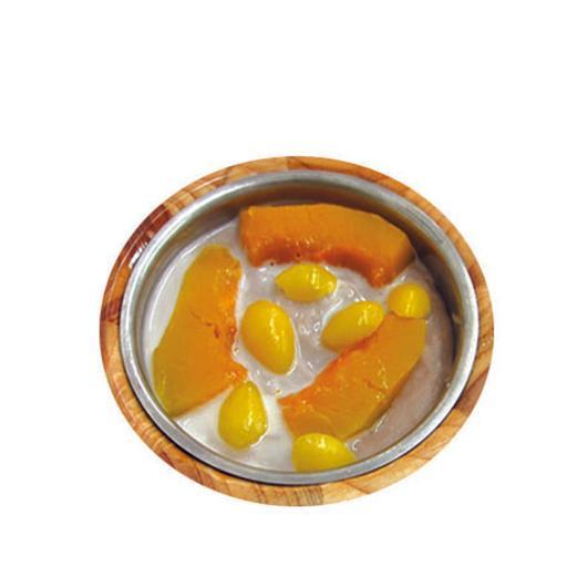 Yam Paste w/Ginkgo Nut (Add Coconut Milk) 南瓜白果芋泥-(加椰浆)